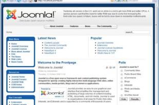 welcome header joomla