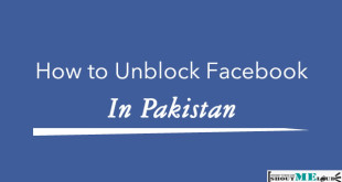 unblock facebook pakistan