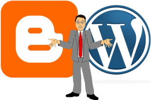 blogger or wordpress