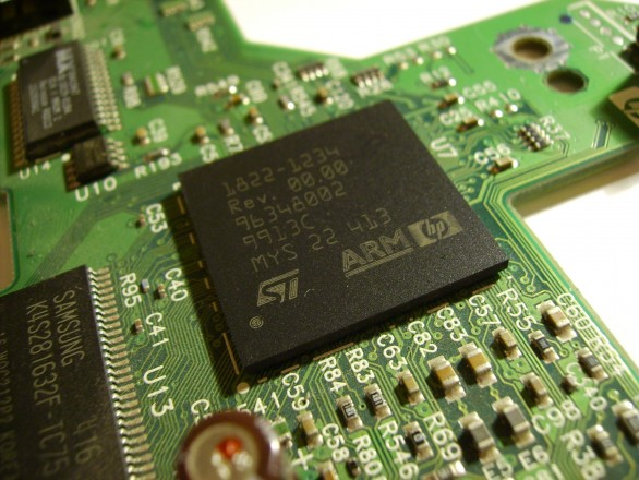 ARM processor from HP printer