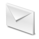 Mail letter icon