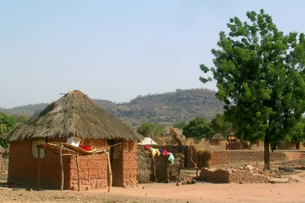 cameroon africa hut
