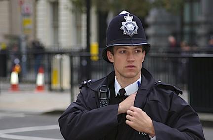 cop on duty