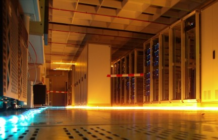 inside a data center