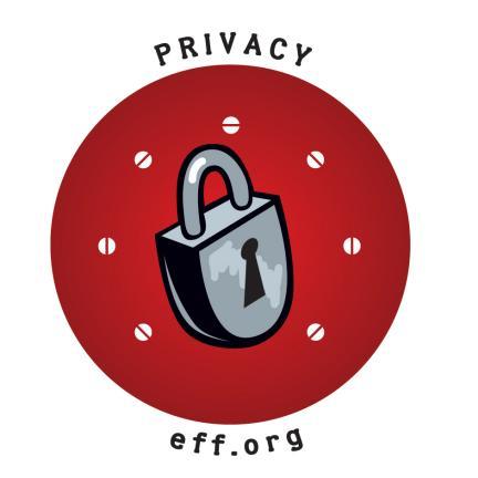 EFF privacy