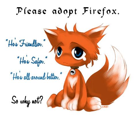 Cute firefox, please adopt