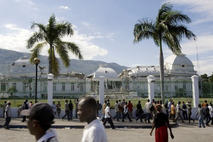 haiti presidential palace after earthquake