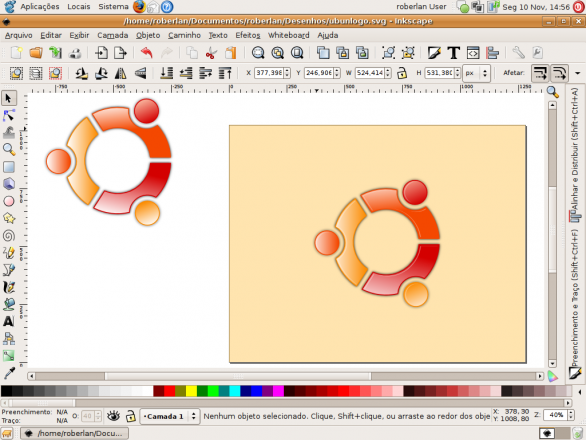 SVG image creation with Inkscape