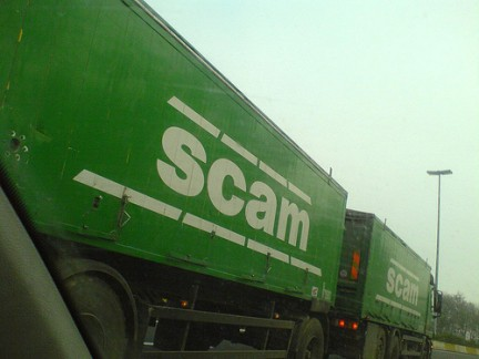 scam truck
