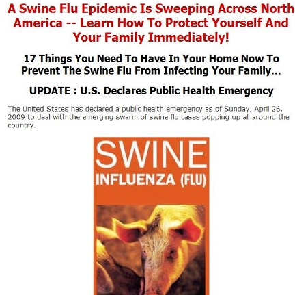 Swine Flu Scam