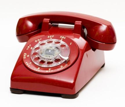 old rotary telephone