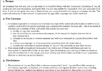 Web Hosting Terms Of Service Agreements