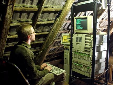 Original Unix in someone\'s attic